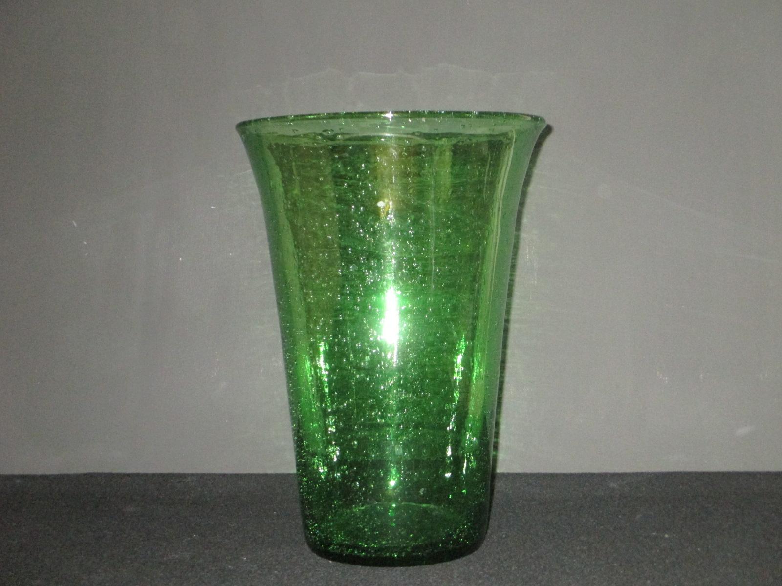 vase de biot vert