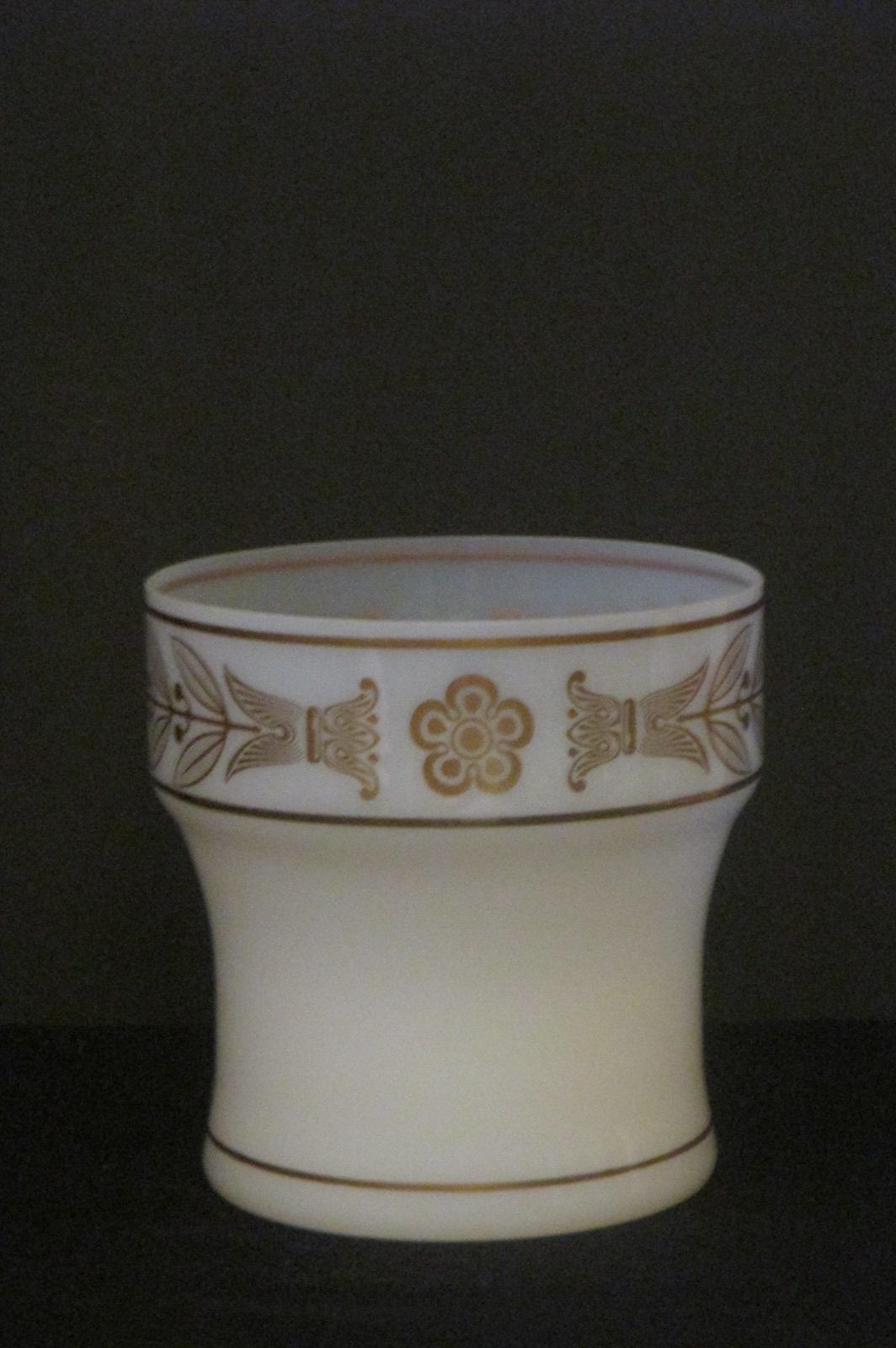 Vase en opaline 1900 1
