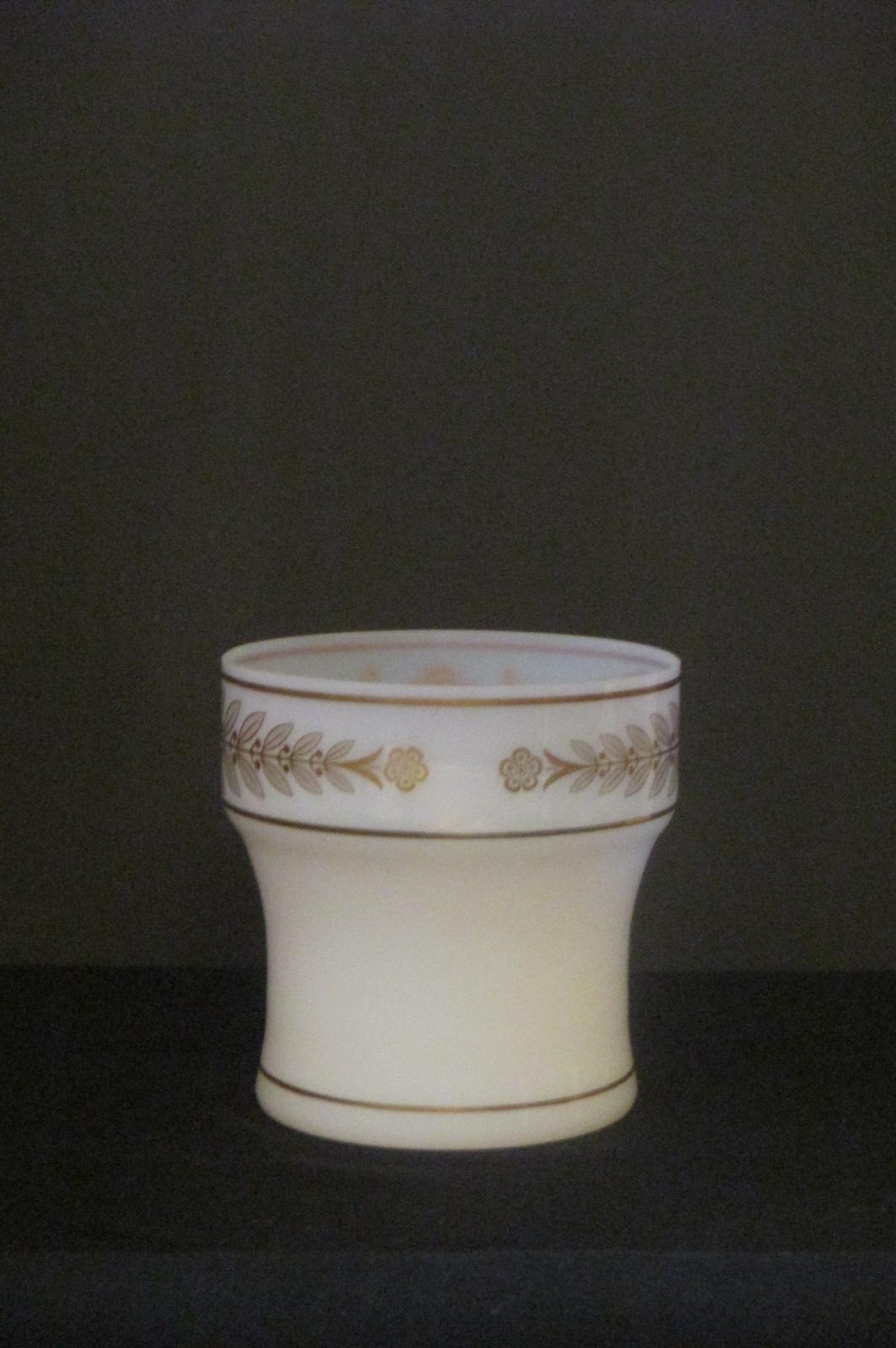 Vase en opaline 1900 Dos