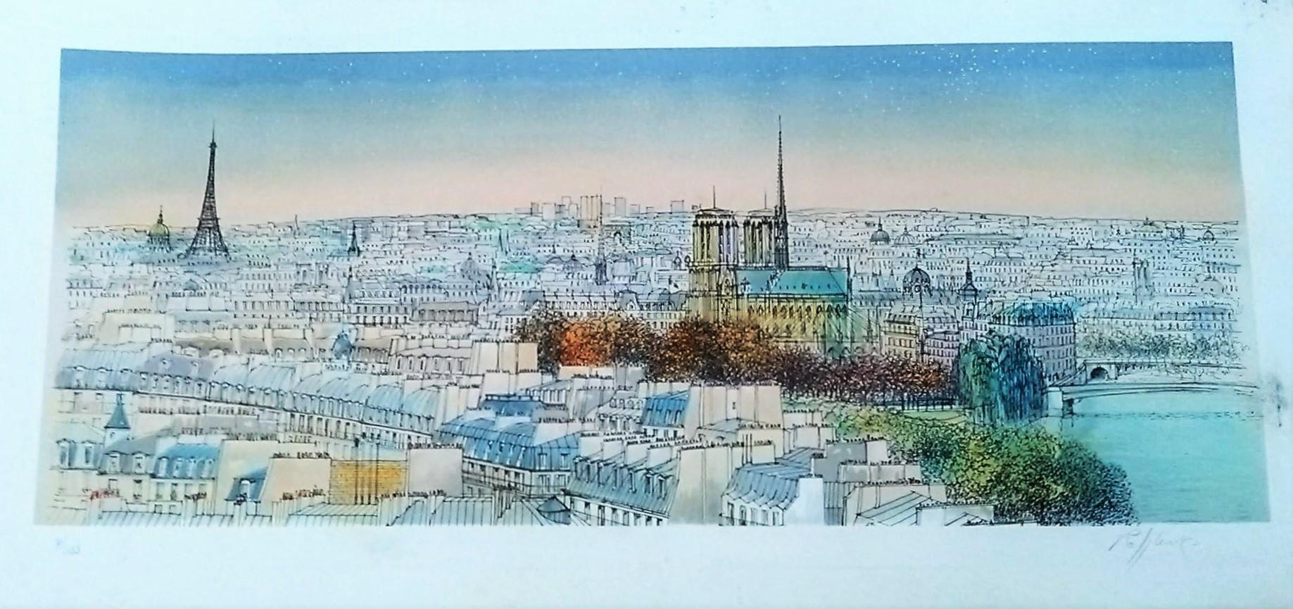 Gravure de Paris